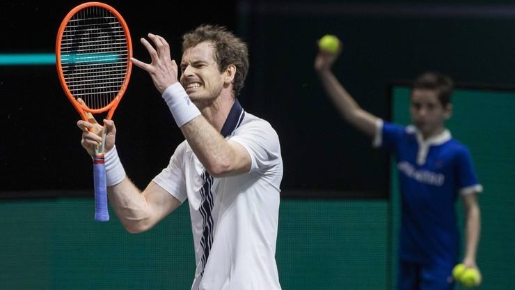 Tokio 2020: Andy Murray wciąż walczy z urazami i ma nadzieję na występ w Japonii