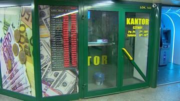 Okradli kantor na Dworcu Centralnym. Nieoficjalnie: zabrali ok. 350 tys. zł