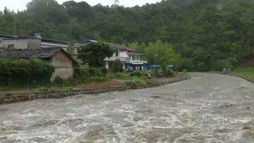 Powodzie w Chinach. Zagrożone Wuhan