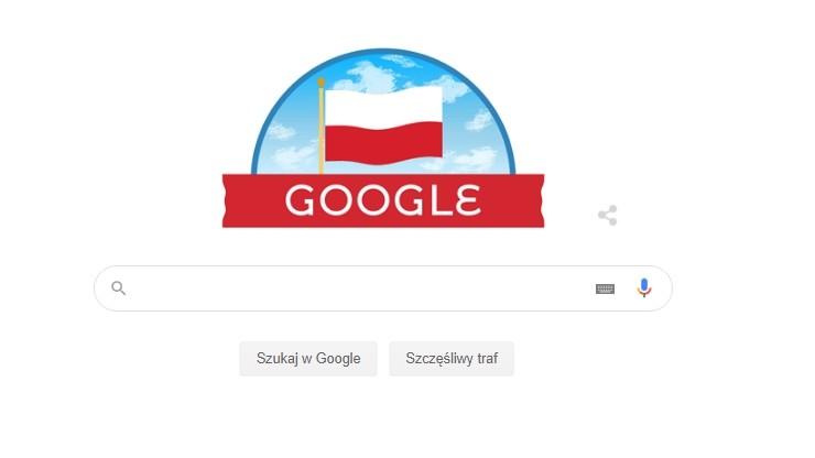 Święto Niepodległości. Google zmieniło logo wyszukiwarki