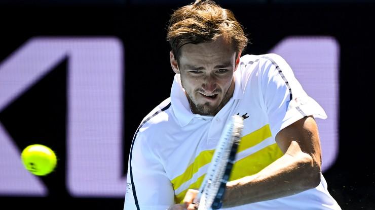 Australian Open: Miedwiediew i Rublow kolejnymi Rosjanami w ćwierćfinale
