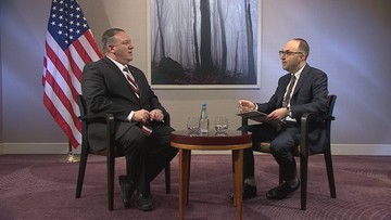 """Mike Pompeo dla """"Polsat News"""": Polacy, jak mało kto, rozumieją konieczność odstraszania"""