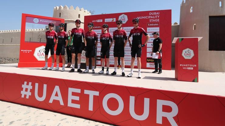 UAE Tour: Cztery drużyny wciąż w Abu Zabi w związku z koronawirusem