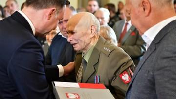 Prezydent Duda nadał polskie obywatelstwo 90-letniemu kombatantowi