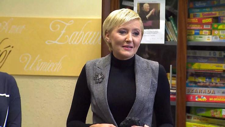 Strajk nauczycieli. Agata Kornhauser-Duda rozmawiała z premierem o wynagrodzeniach