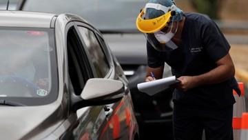 W Gdyni testują na koronawirusa bez wysiadania z samochodu