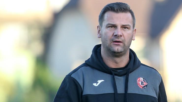 Trener Bytovii: Chciałbym widzieć mój zespół grający agresywny futbol