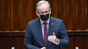 Niedzielski złożył zawiadomienie do prokuratury ws. gróźb Brauna