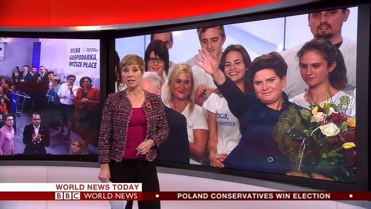 """Zagraniczne media o zwycięstwie PiS: """"wygrała antyunijna, przeciwna imigrantom, prawica"""""""