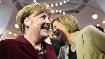 Merkel i CDU zyskuje w sondażach. Coraz więcej Niemców za polityką migracyjną kanclerz