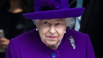 Elżbieta II nie weźmie udziału w szczycie COP26 w Glasgow