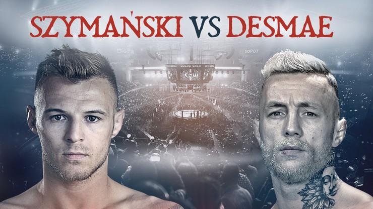KSW 61: Roman Szymański kontra Donovan Desmae kolejnym starciem gali