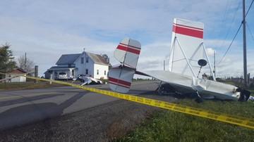 Kanada: zderzenie dwóch samolotów w powietrzu. Jedna osoba zginęła