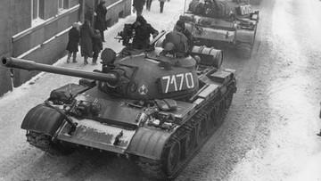 Czołgi na ulicach, zatrzymania opozycjonistów. 39 lat temu wprowadzono stan wojenny