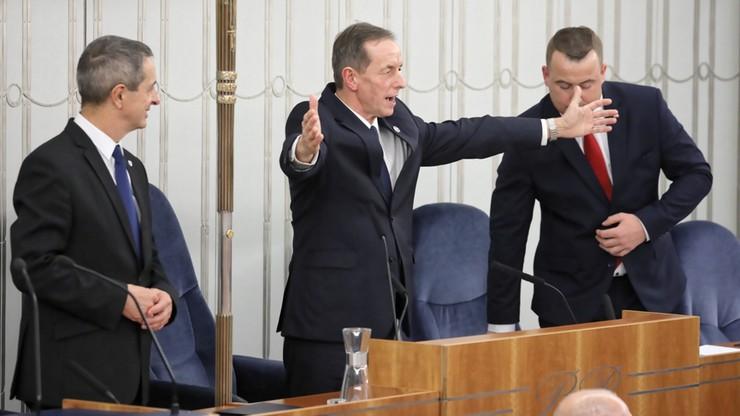 Senat wybrał marszałka i wicemarszałków. Wygrana opozycji