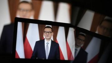 Premier Morawiecki chce większego zaangażowania USA w Inicjatywę Trójmorza