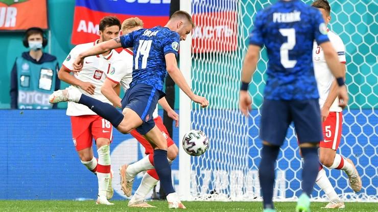 Polska - Słowacja: Milan Skriniar najlepszym piłkarzem meczu
