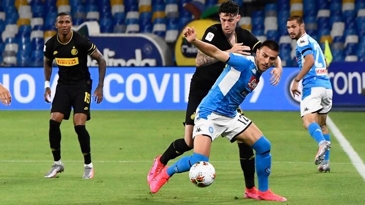 Napoli zremisowało z Interem. Awansowało do finału Pucharu Włoch!