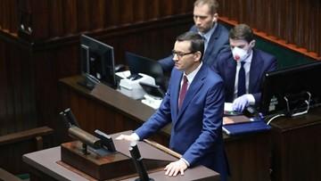 Morawiecki: będziemy używać pieniędzy budżetowych do takiego stopnia, jak to będzie konieczne