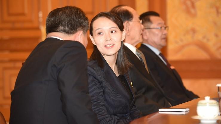 Siostra Kim Dzong Una przekazała prezydentowi Korei Płd. zaproszenie do Korei Płn.