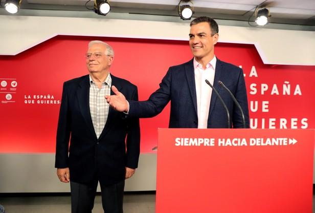 Premier Hiszpanii Pedro Sanchez.