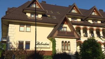 Hotel Belvedere stwarza zagrożenie dla swoich gości. Raport straży pożarnej