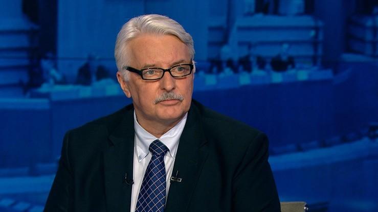 """""""Pożyjemy, zobaczymy"""" - Waszczykowski skomentował decyzję PE ws. debaty o Polsce"""