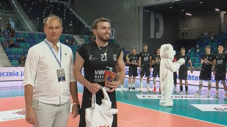 Turniej w Suwałkach: Siatkarze Vervy wygrali w trzech setach