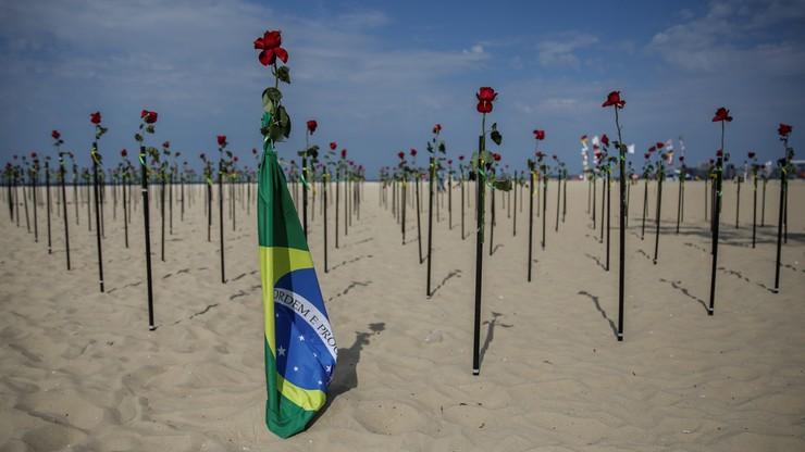 Covid-19 w Brazylii. Pół miliona ofiar koronawirusa