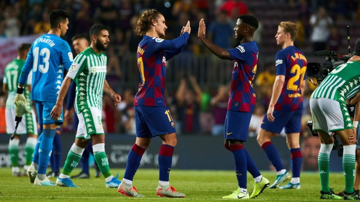 Siedem goli w meczu Barcelony. Wygrana bez Messiego i Suareza