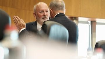 KE: Timmermans jest w kontakcie z polskim władzami w sprawie ustawy o SN