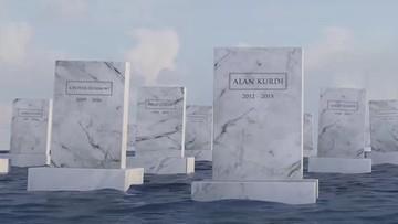 Cmentarz na morzu. Ma upamiętnić uchodźców, którzy zginęli