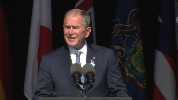 """George W. Bush przemawiał w rocznicę ataku na WTC. """"Dzieci plugawego ducha"""""""
