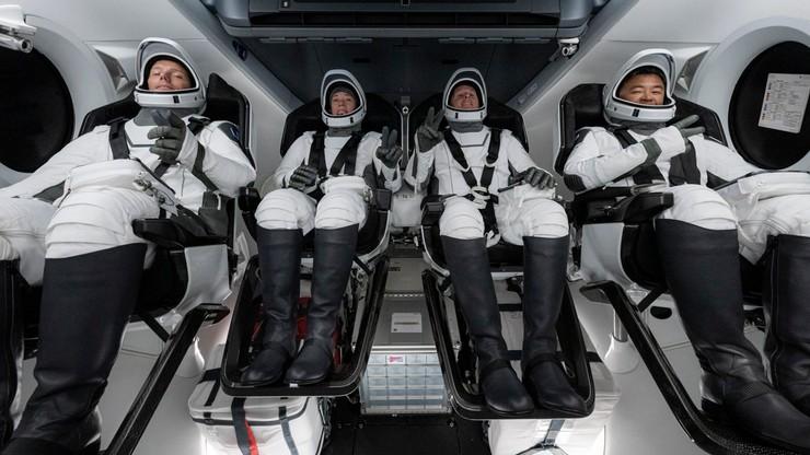 SpaceX leci na Międzynarodową Stację Kosmiczną. Na pokładzie czwórka astronautów