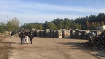 Wwieźli do Polski 180 ciężarówek pełnych nielegalnych śmieci z Niemiec