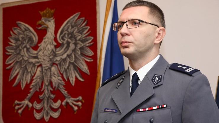 Obowiązki komendanta policji przejmie mł. insp. Andrzej Szymczyk