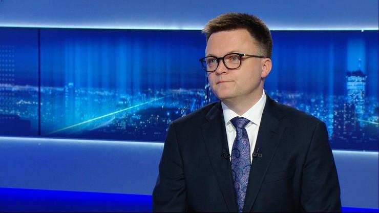 Szymon Hołownia: możemy mieć klub parlamentarny, chociaż o nim nie marzymy