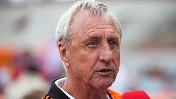 U Johana Cruyffa zdiagnozowano raka płuc