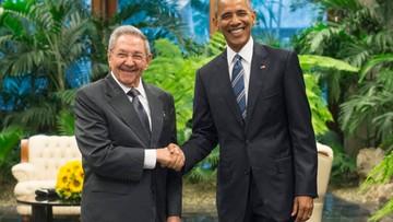 Historyczny uścisk dłoni: Barack Obama spotkał się z Raulem Castro
