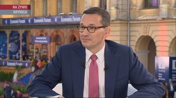 Premier: Polacy muszą zdecydować, czy chcą powrotu do czasów, gdy budżet był dziurawy jak durszlak