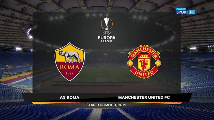 AS Roma - Manchester United 3:2. Skrót meczu