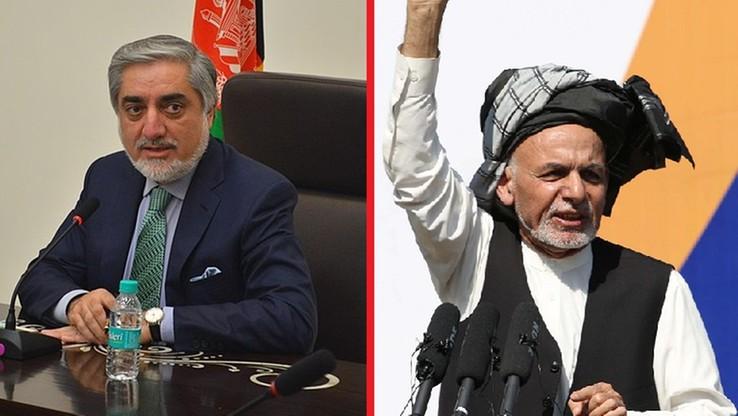 Dwuwładza w Afganistanie? Jednego dnia zaprzysiężono dwóch prezydentów
