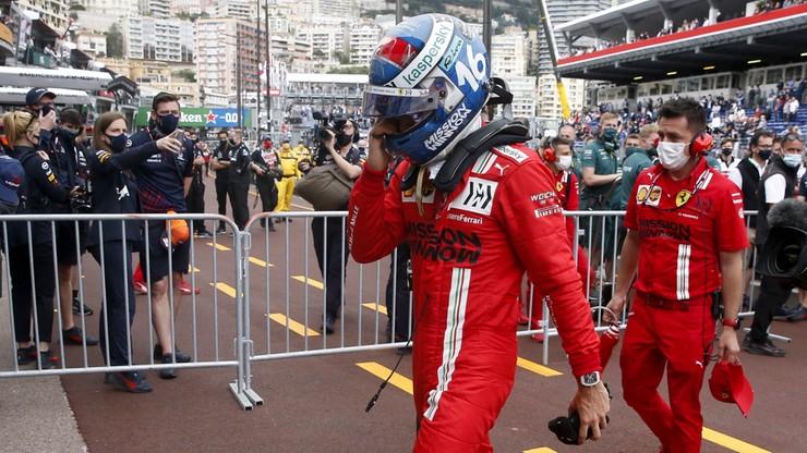 GP Monako: Charles Leclerc nie wystartował w wyścigu