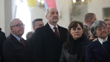 Macierewicz i Lasek: spór o zdjęcia z badania katastrofy smoleńskiej