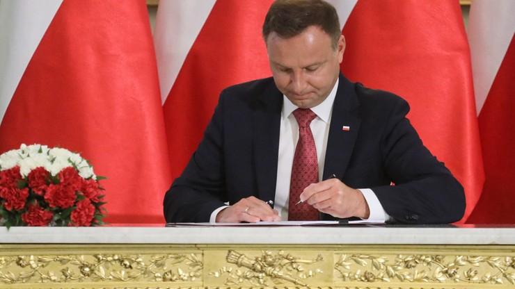 Prezydent podpisał Konstytucję dla Nauki, wzrost nakładów na służbę zdrowia, specustawę mieszkaniową