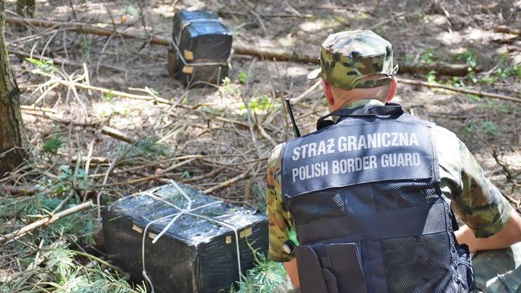 Lubelskie. Próba przemytu papierosów z użyciem drona przy granicy z Ukrainą