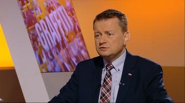 Błaszczak: nie ma zagrożenia. Zapraszam do Krakowa i Częstochowy