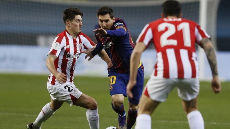 Athletic Bilbao z Superpucharem Hiszpanii! Barcelona przegrała po dogrywce, czerwona kartka Messiego