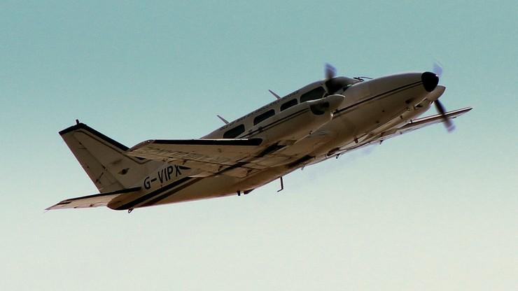 Zielona Góra: rozbił się samolot. Pilot nie żyje