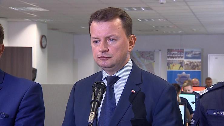 Błaszczak nie przeprosi gdańskich policjantów. Skrytykował ich za brutalność wobec córki radnej PiS